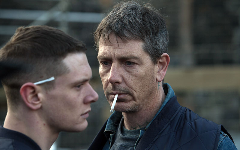 Jack O'Connell (links) en Ben Mendelsohn